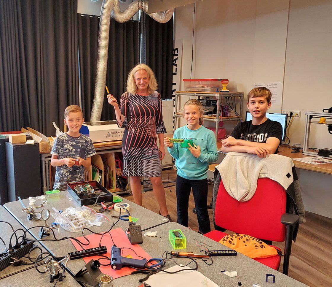 Laatste Open Lab Junior workshop