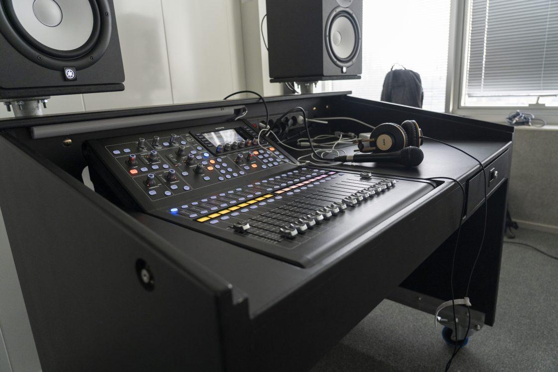 Mobiele geluidsopname studio, meubel